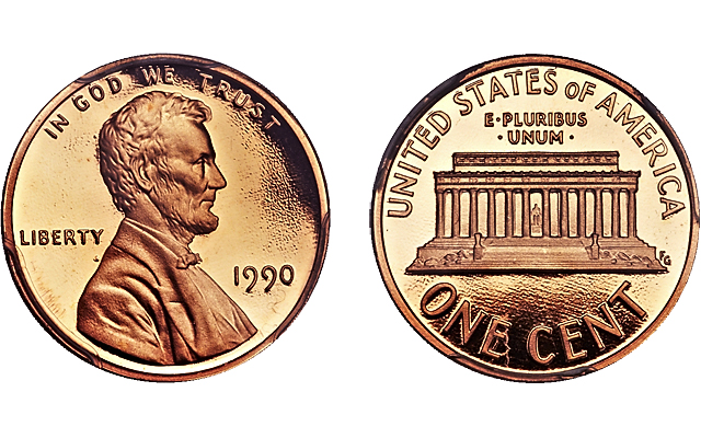 1990 Lincoln No S Cent In Heritage Summer Fun Auction