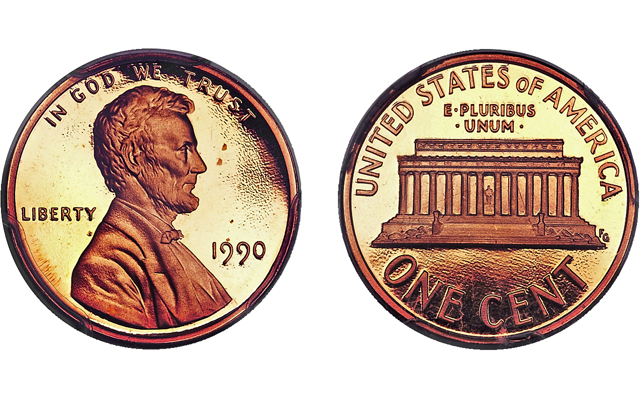 1990-S cent, 1934 quarter among modern coins sold in Houston