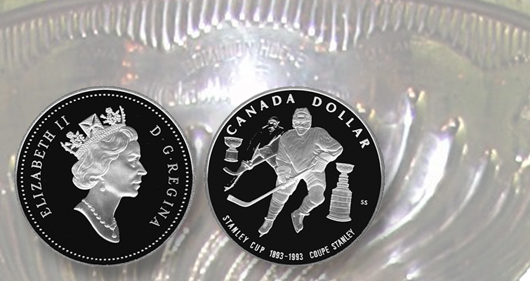 Put skates on your coin collection, and add a puck