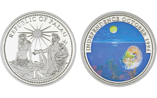 1994-palau-uncirculated-nautilus-dollar