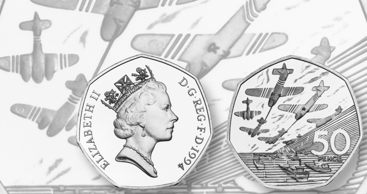 United Kingdom among several nations issuing 50-penny coins