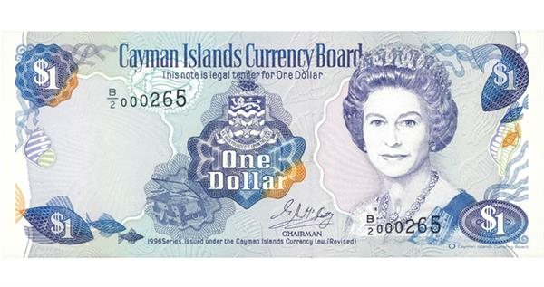 1996-cayman-islands-dollar-note-face
