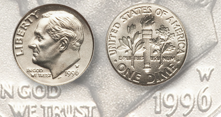 2019 P+D+S Roosevelt Dime  Proof Set ~ PD from Bank Rolls.