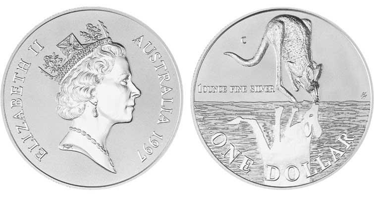 1997australiasilverdollarkangaroo