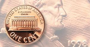 There is no 1959-D Lincoln cent is graded higher than this one