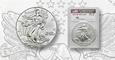 MS-70 1999 American Eagle bullion