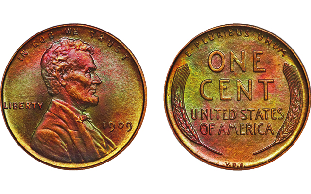 Specialist assembles collection of 53 Proof 1909 Lincoln, V.D.B. cents