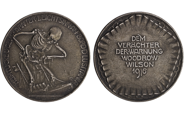 American Numismatic Society launches extensive web-based catalog featuring World War I medals, tokens