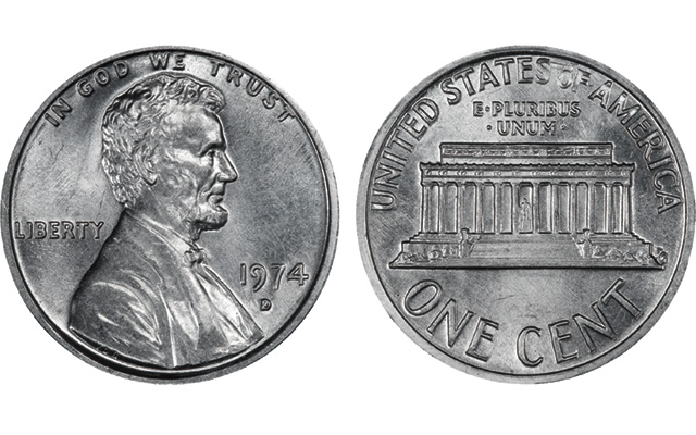 California federal judge rules against government in 1974-D aluminum cent case