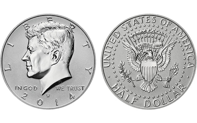 The Mint has announced another Reverse Proof coin to join the 2014-W Kennedy half dollar and other coins with the same finish. The Reverse Proof coin will be a 2015-P Roosevelt dime. Images of the dime are unavailable at this time.