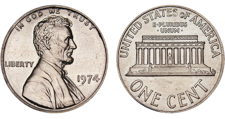 1974 aluminum cent fakes appear in eBay sales