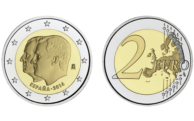 2-euro-succession-to-the-spanish-crown