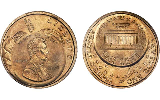 The Only Sacagawea 1 With Edge Lettering Just Sold Coin