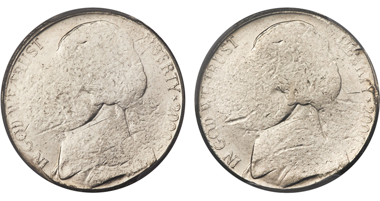 2000-P Two-Headed 5-cent merged