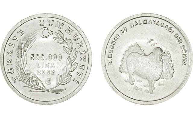 2002-turkey-500000-lira-sheep