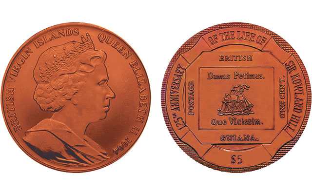 British Guiana's Penny Magenta stamp an expensive, ugly, stamp