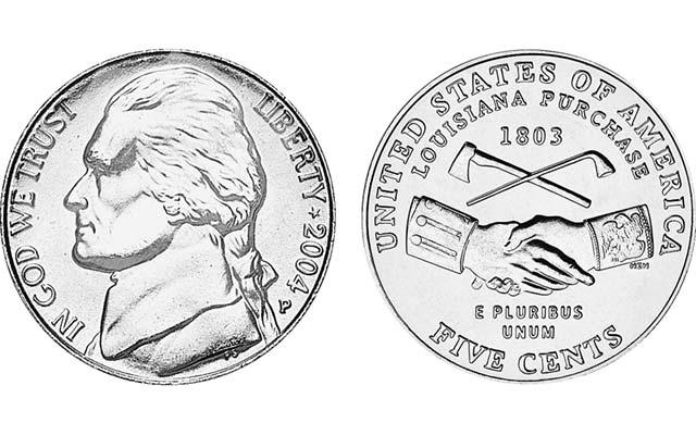 2004-jefferson-nickel-louisana-purchase
