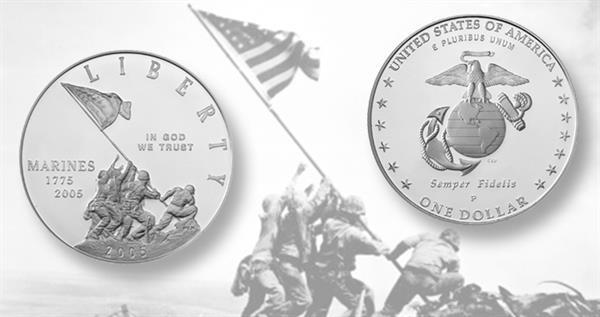 2005-marine-corps-silver-dollar-iwo-jime