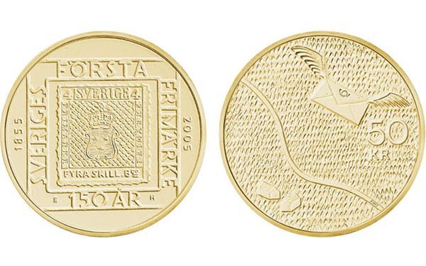 2005-sweden-50-kroner-stamp-coin