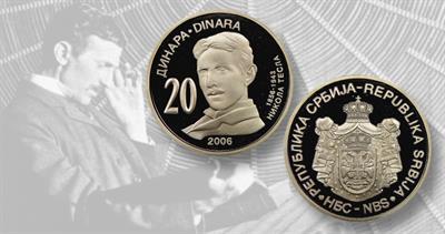 2006 20-dinara from Serbia