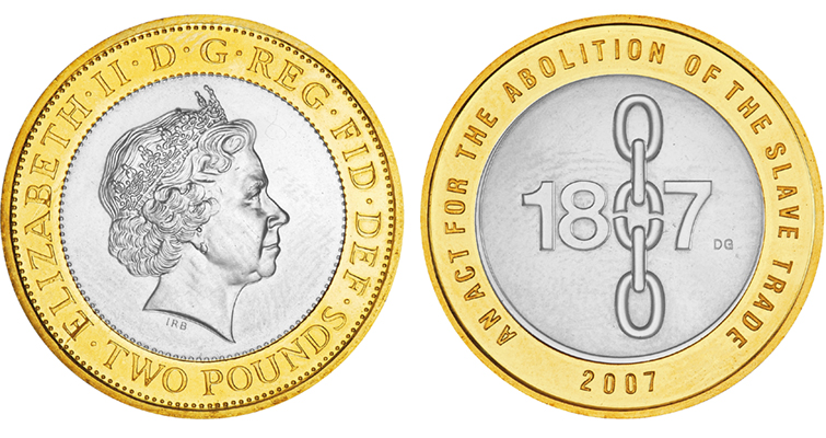 Marking Abolition On Coins Medals Going Topical