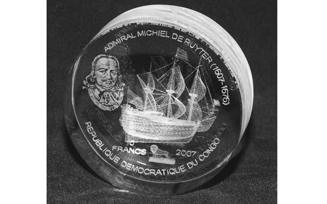 2007-congo-10-francs-acyrlic-ship-coin-blk