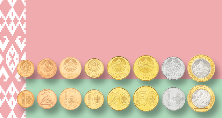 Belarus releases its first circulating coins since independence