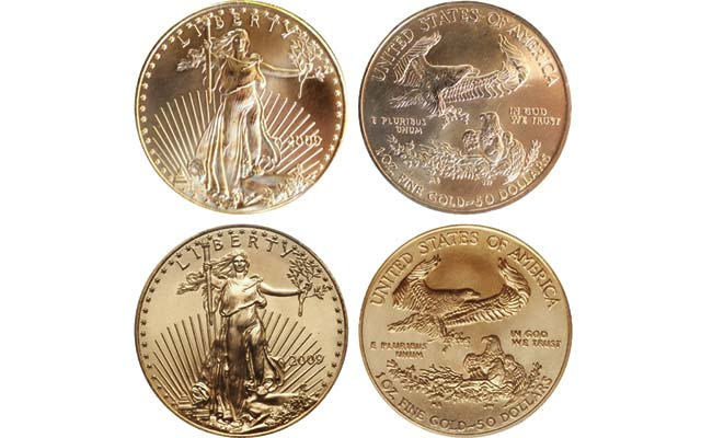 Counterfeit American Eagle gold bullion coins improving in design quality