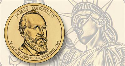 Garfield Presidential dollar