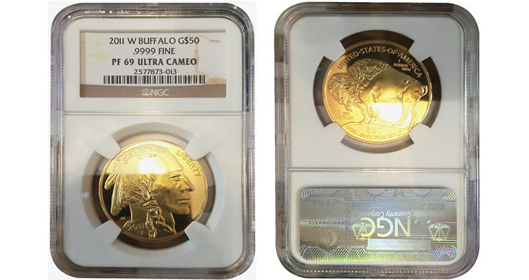 Fake Gold Bullion Coins In Counterfeit Holders Coin World
