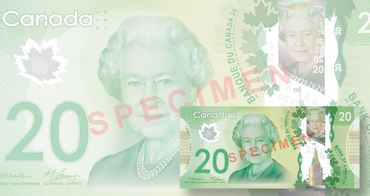 Canada's use of polymer for its bank notes thwarts counterfeiters