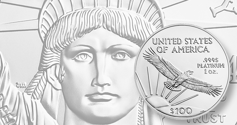 The United States Mint is still planning on releasing a 1-ounce American Eagle bullion coin in platinum in 2015. Fractionsl versions were last offered in 2008.