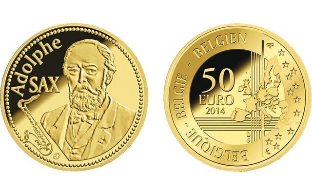 2014-belgium-adolphe-sax-gold-proof