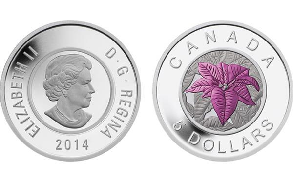 2014-canada-5-dollar-poinsettia-together