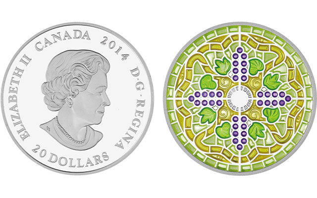 2014-canada-proof-silver-stained-glass-casa-loma-coin