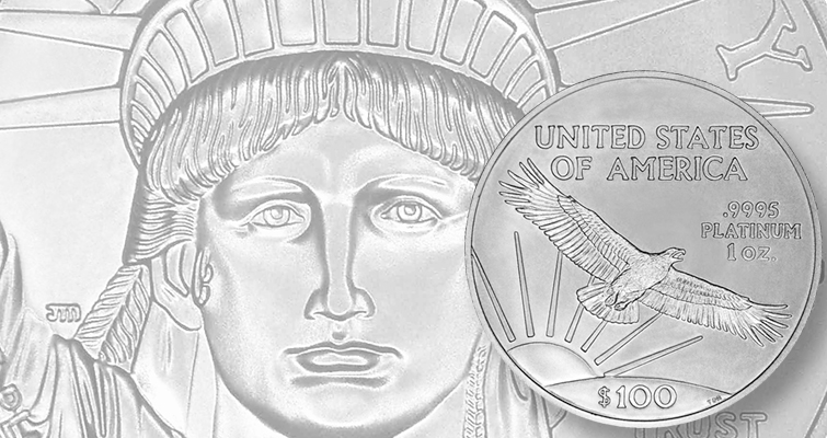 Changes planned for obverse of Proof  American Eagle platinum coins