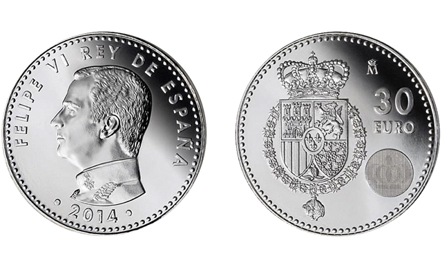 2014-spain-30-euro-new-king-proclamation-coin