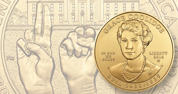 Get the First Spouse $10 gold coins  for your collection while you still can