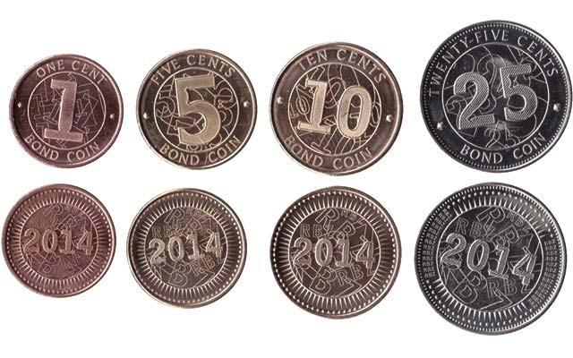 Zimbabwe S 2014 Bond Coins Are Entering Marketplace