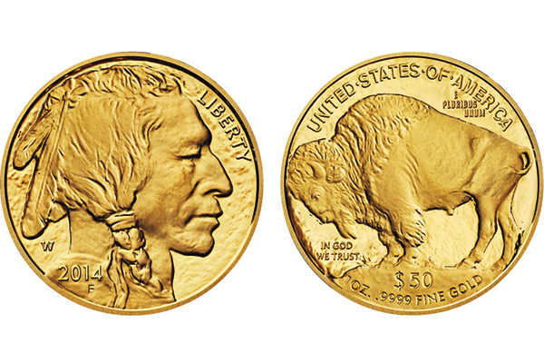 2014 W Proof Gold American Buffalo 50 Gold Coin On Sale May 8