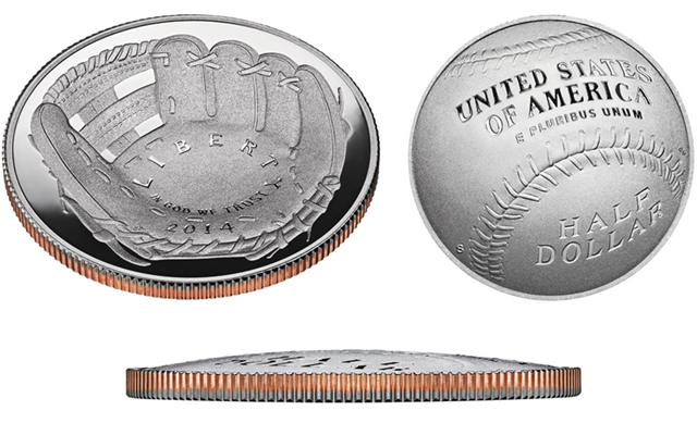 2014 National Baseball Hall of Fame half dollars remain available from United States Mint