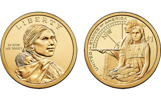 United States Mint to begin selling 2014 Native American dollars