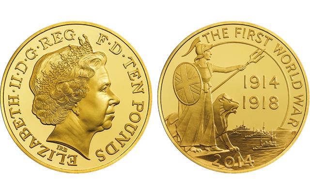 5 Ounce Gold Coin April 2019