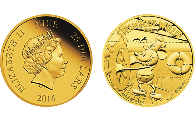 New Zealand Mint Issues Disney Gold Silver Collector Coins