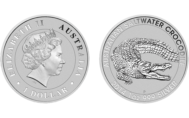 Monty The Croc On Australian Silver 5 Coin Coin World
