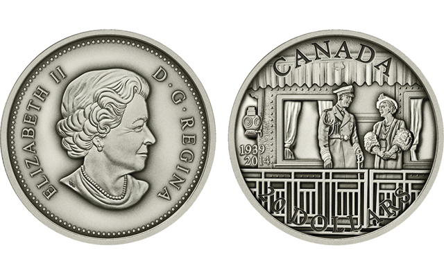 Royal Canadian Mint marks 1939 Royal Visit anniversary with three commemorative coins