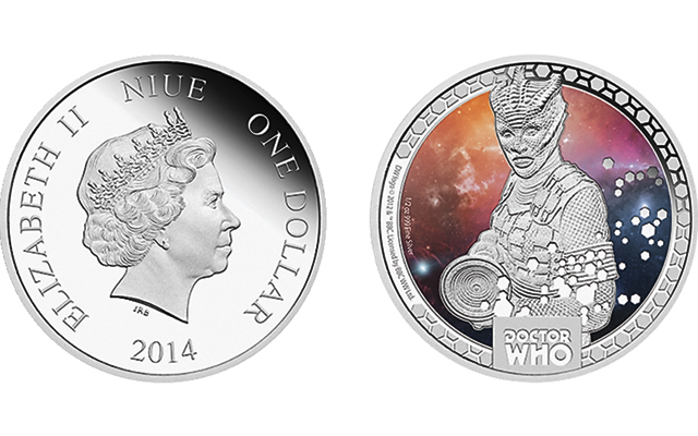 Silurians from Doctor Who latest subject of Monster coins from Perth, New Zealand mints
