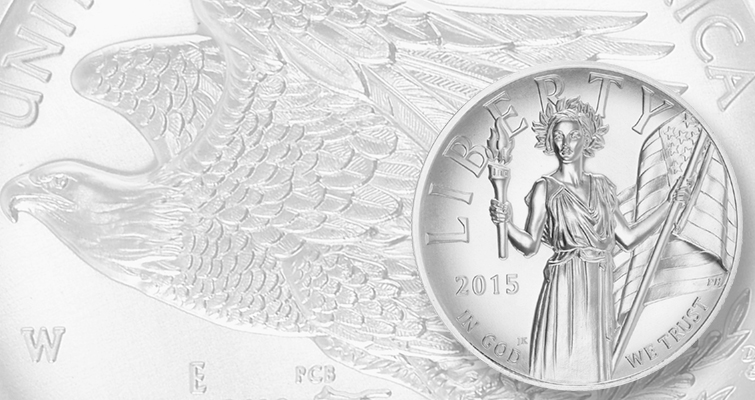 2015 American Liberty High Relief Silver LEAD