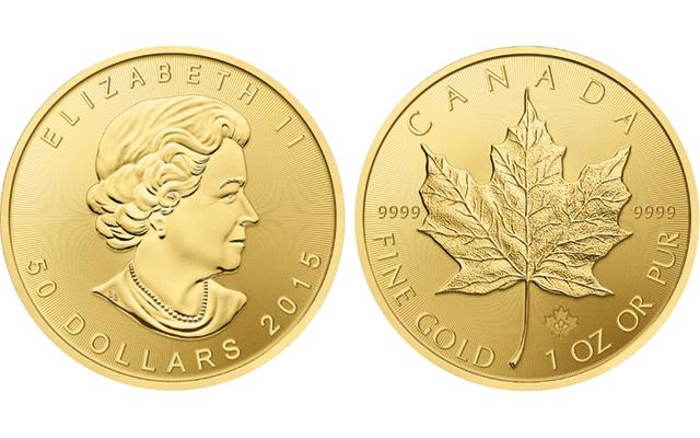 Royal Canadian Mint S Maple Leaf Bullion Coins