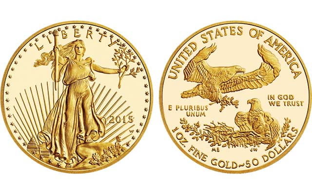 Proof 2015-W American Eagle gold coins available from U.S. Mint without restrictions